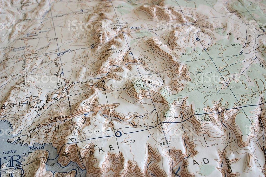 Beyond Lake Mead stock photo