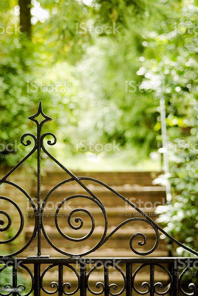 Beyond the Iron Gate stock photo