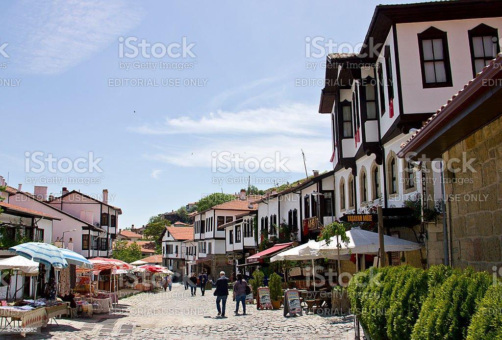 Beypazari las calles, Ankara, Turquía - foto de stock