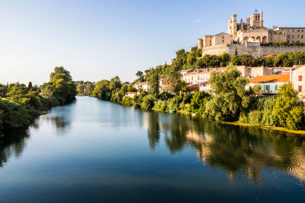 Beziers, France stock photo
