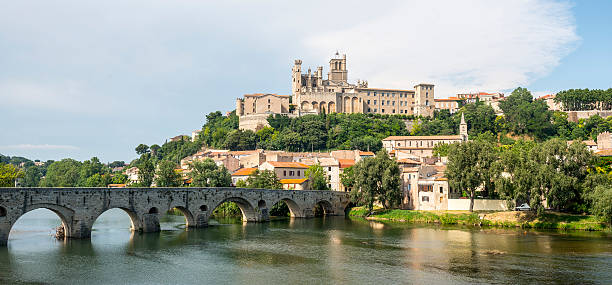 Beziers (France) stock photo