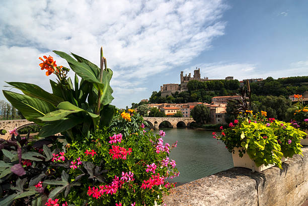 Beziers (Languedoc-Roussillon, France) stock photo