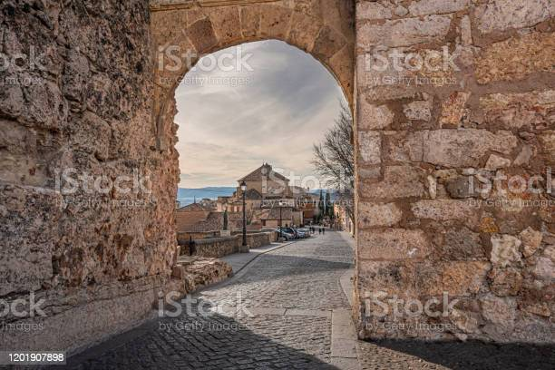 Bezudo arch one of the entrance doors to the medieval city of cuenca picture id1201907898?b=1&k=6&m=1201907898&s=612x612&h=m advgow3wkpxdlqkchlhwziymmeitjhrqp4l7jp0e0=