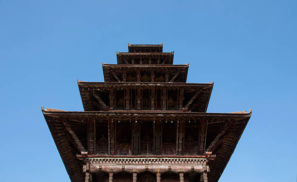 Bhaktapur Durbar Square, Kathmandu, Nepal. stock photo