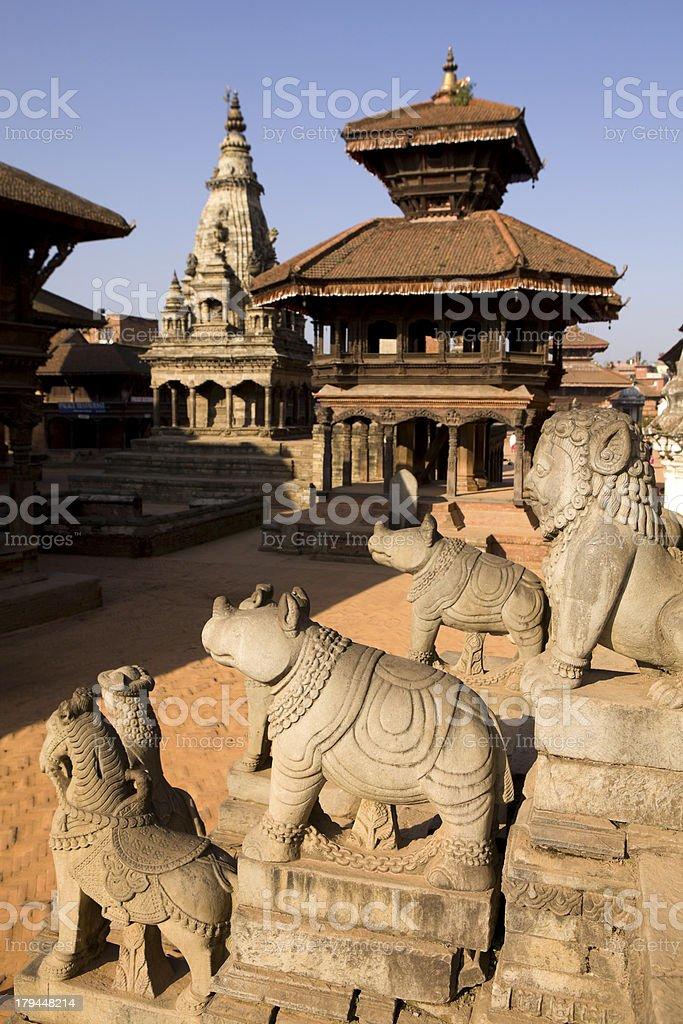 Bhaktapur Durbar Square stock photo