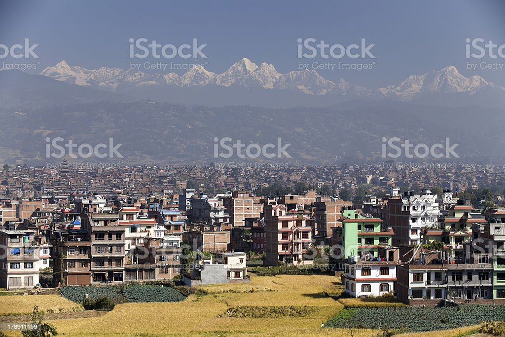 Bhaktapur Nepal royalty-free stock photo