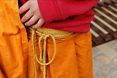 istock Bhikkhu Dress 1286864562