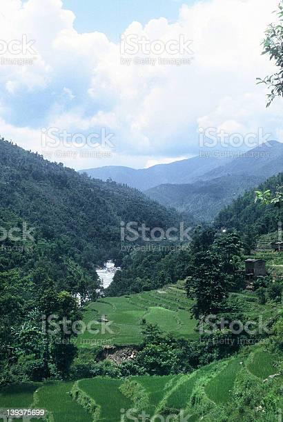 Bhoti Kosi River Valley - Nepal