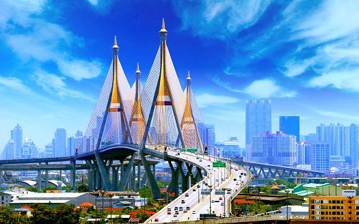 istock Bhumibol Bridge BANGKOK 684774510