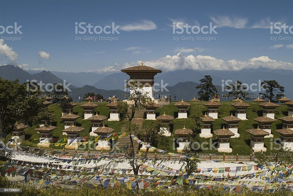 Bhutan, Druk Wangyal stock photo