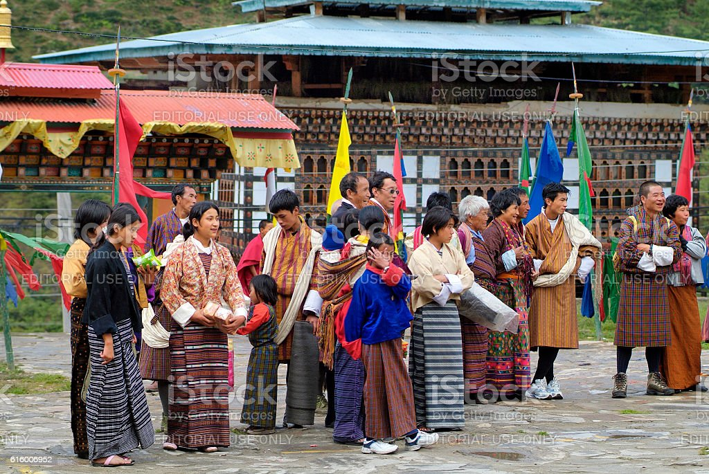Bhutan, Haa, stock photo