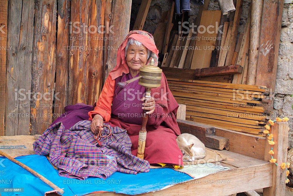Bhutan, People stock photo