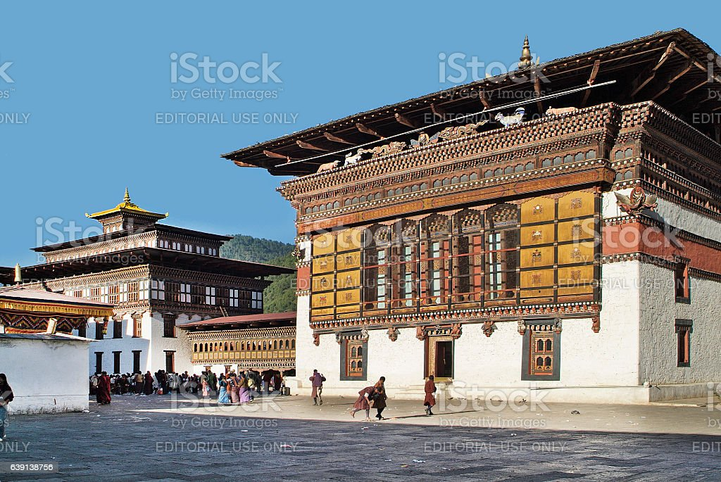 Bhutan, Thimpu, stock photo