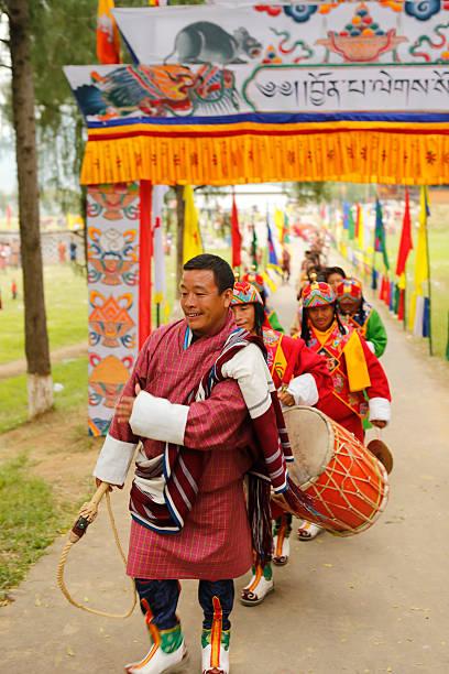Bhutaner festival – Foto