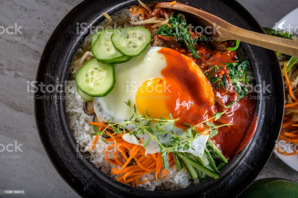 Bi Bim Bap stock photo
