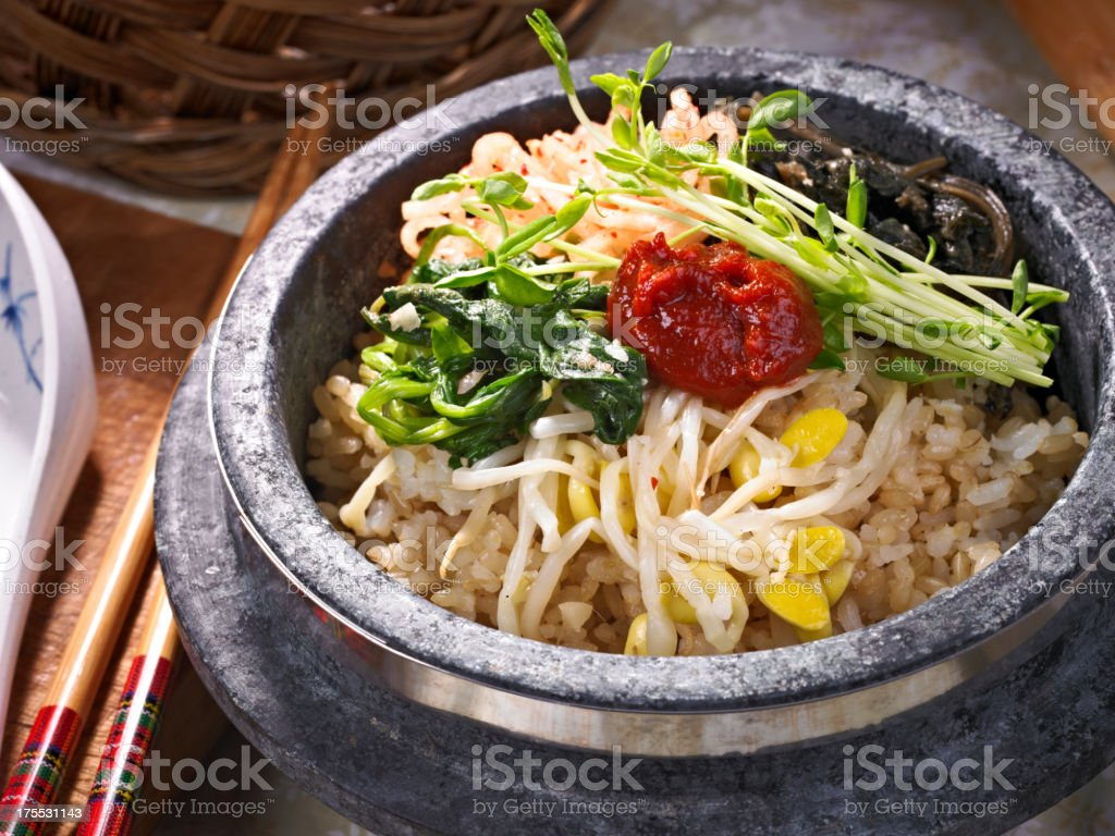 Bi Bim Bap royalty-free stock photo