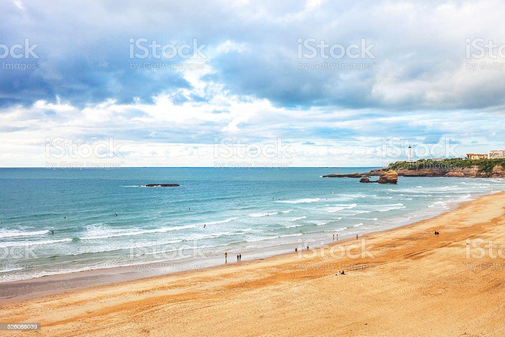 Biarritz plage. - Photo