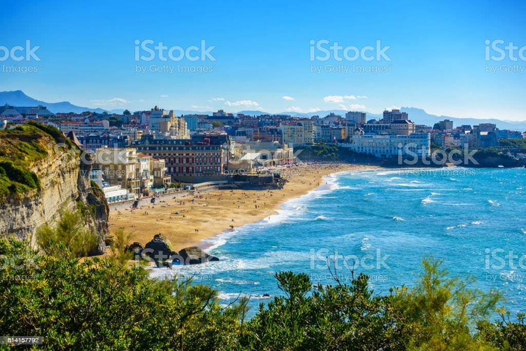 Biarritz Grande Plage en France - Photo