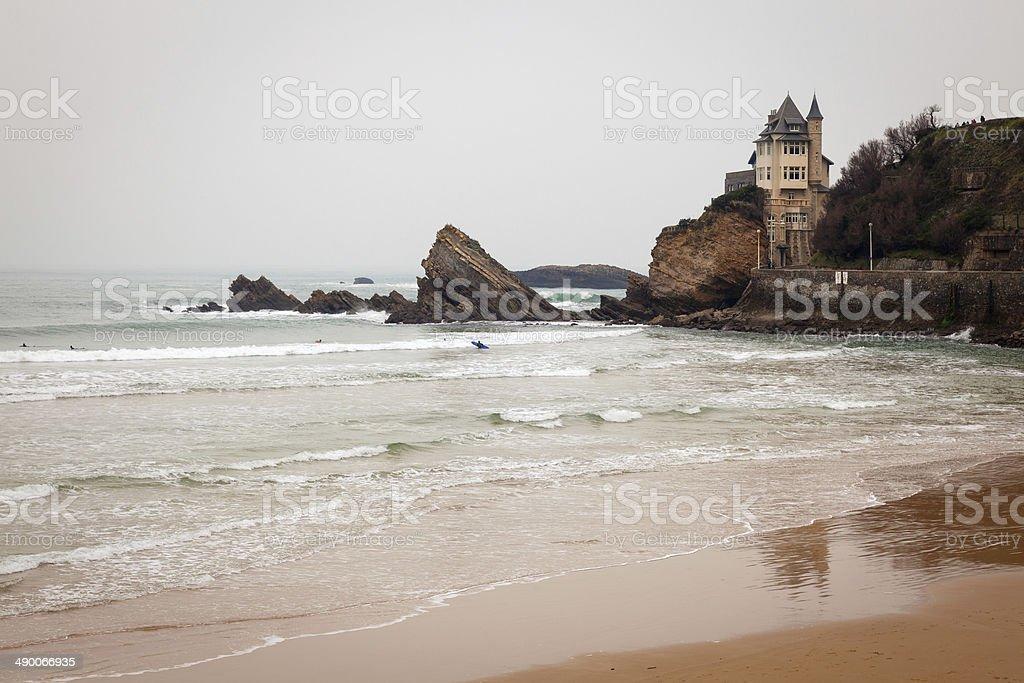 Biarritz paysage marin France - Photo