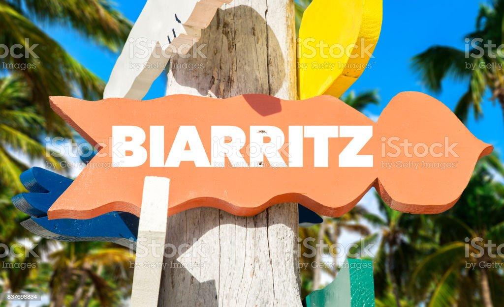 Signe de Biarritz - Photo