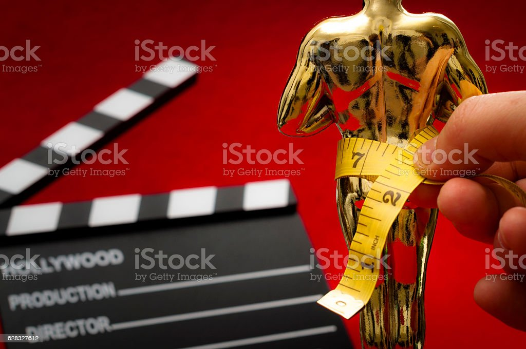Bias and bigotry in Hollywood stock photo