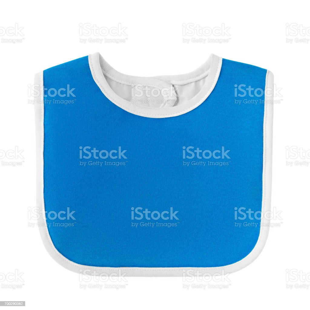 bib for babies and kids stock photo