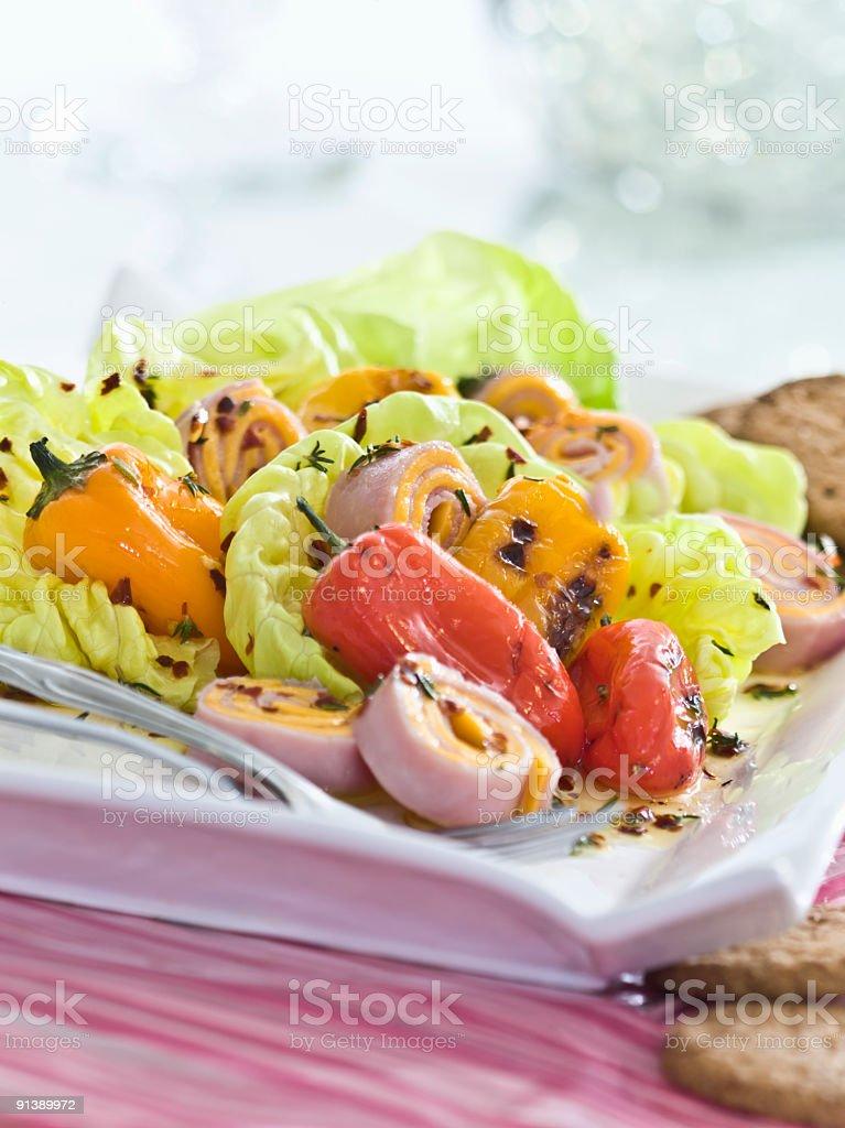 bibb salad stock photo