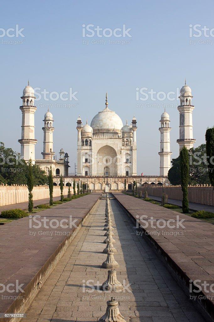 Bibi ka Maqbara in Aurangabad, India stock photo