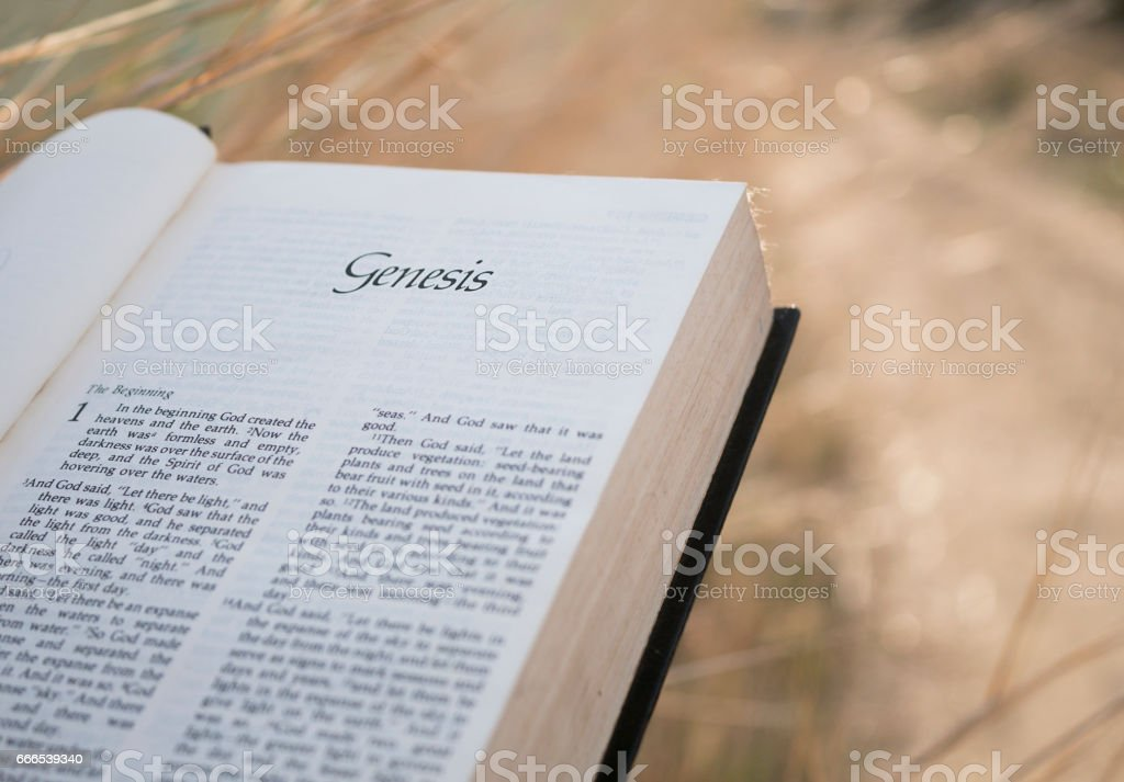 Bible Chapter Genesis Stock Photo & More Pictures of Ancient