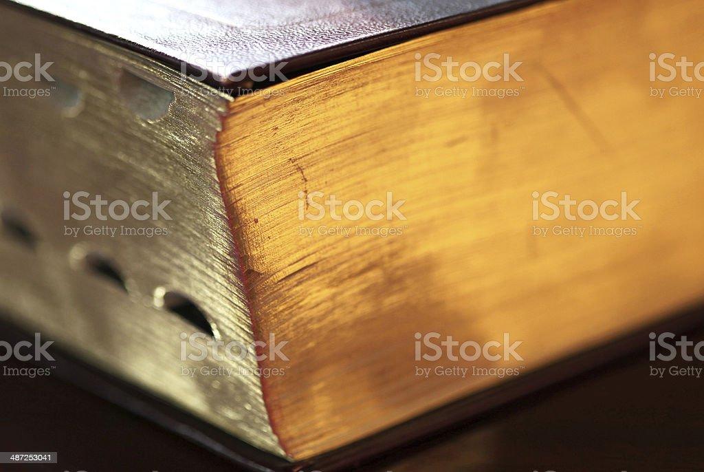 Bible close up stock photo