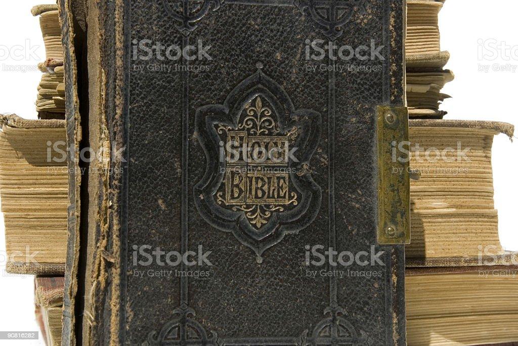 Bible closeup stock photo