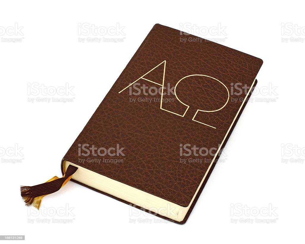bible isolated royalty-free stock photo