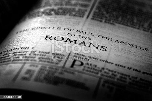 Bible New Testament Christian Teachings Gospel Romans