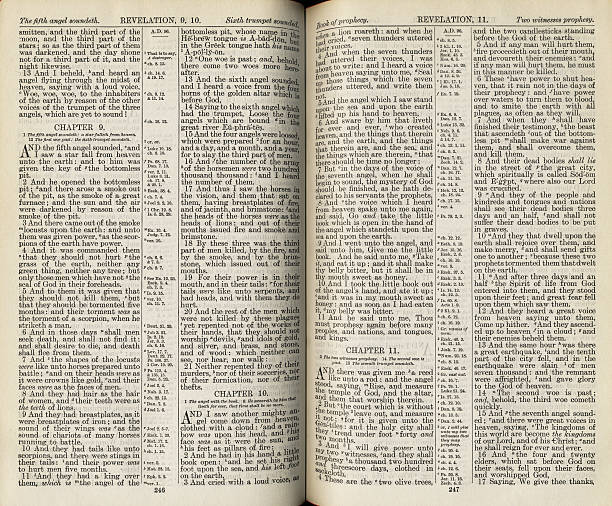 bible pages - page stock photos and pictures