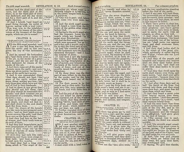 Biblia páginas - foto de stock