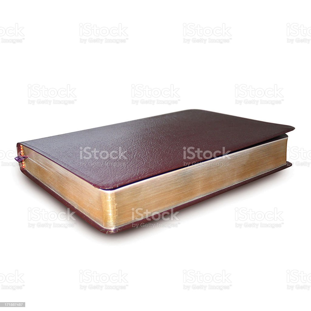 Bible (with clipping path) royalty-free stock photo