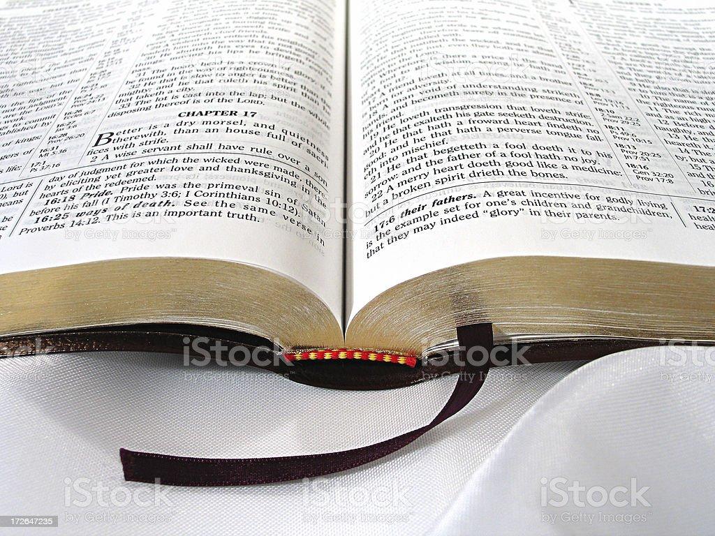 Bible (KJV) stock photo
