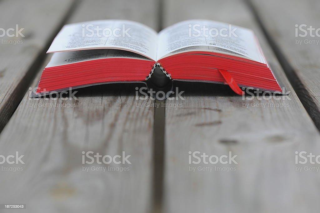 Bible royalty-free stock photo