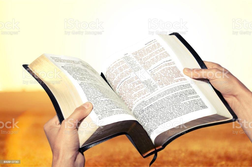 Bible. stock photo