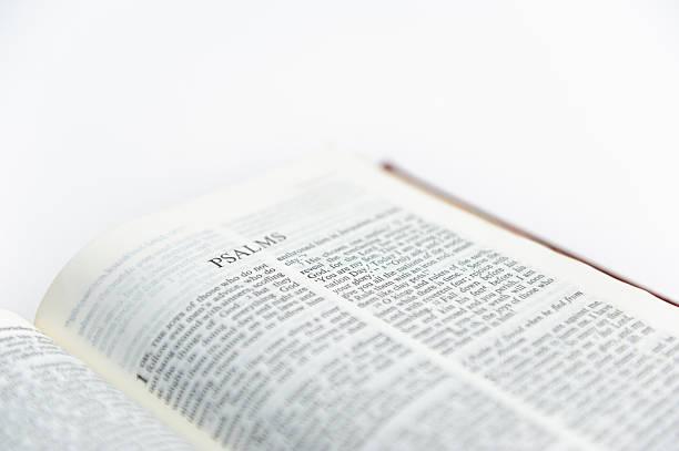 bibel-psalm - psalm stock-fotos und bilder