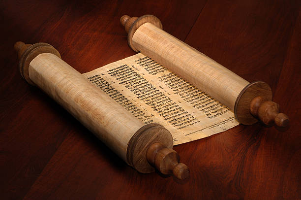 bible scrolls - scroll stock photos and pictures
