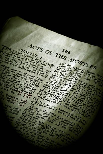 Bible Series Apostles stock photo