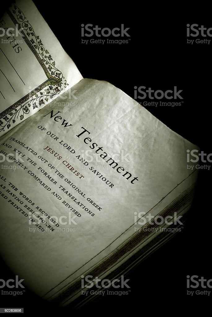 bible series new testament royalty-free stock photo