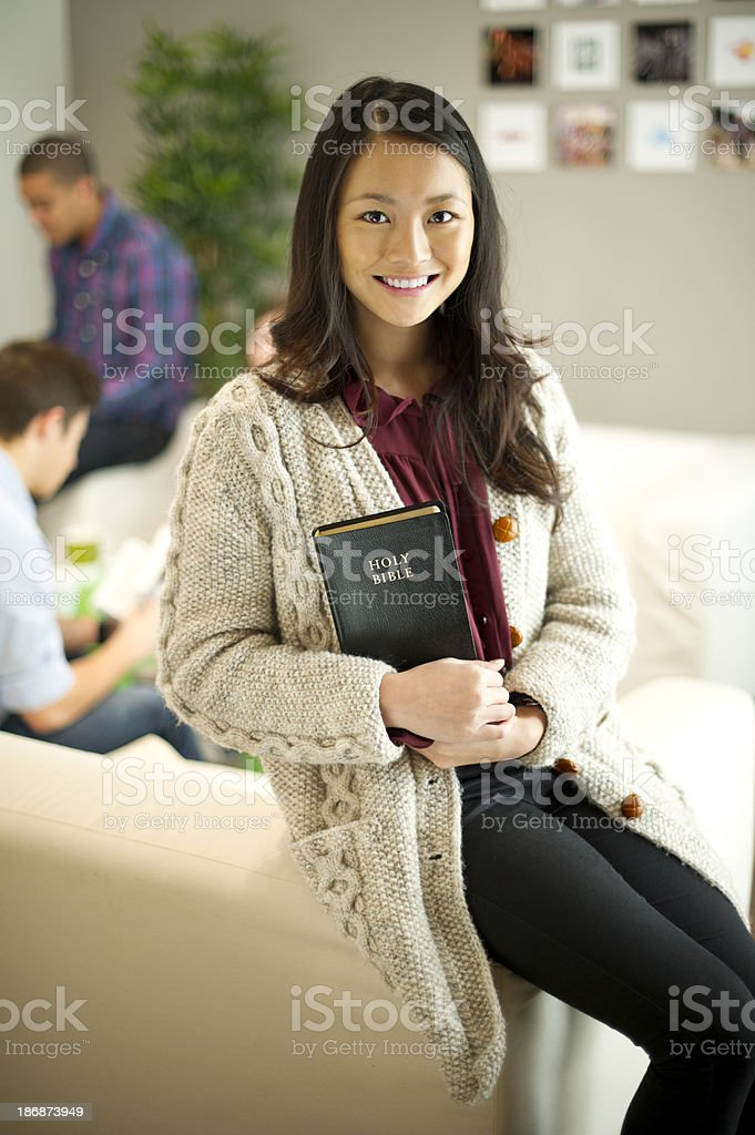 bible student stock photo