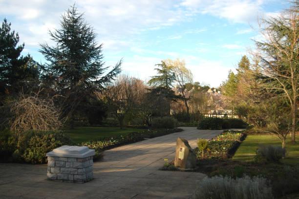 Biblical Garden, Elgin stock photo