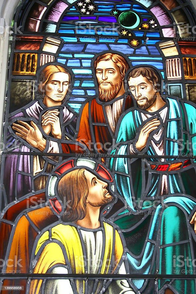 Biblical Healing stock photo