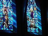 istock Biblical scenes from Saint-Paul church in Princeton, NJ. 184399473