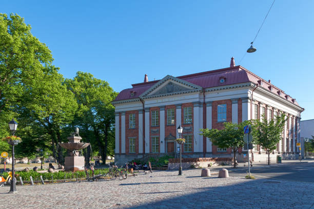 Bibliotheca in Turku stock photo