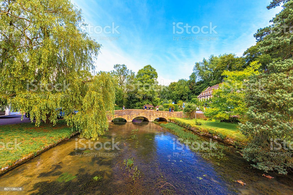 Bibury Village, England stock photo