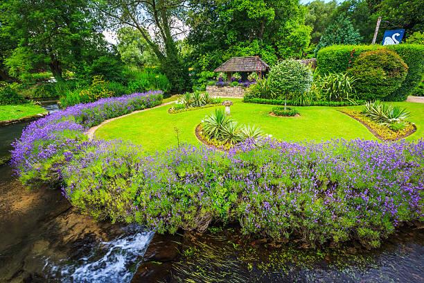 Bibury Village, England – Foto